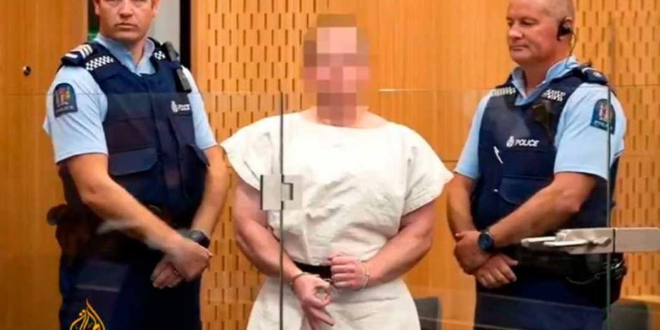 Autor de masacre en Christchurch se declara