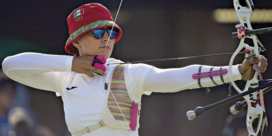 México se queda sin JO en tiro con arco por equipo