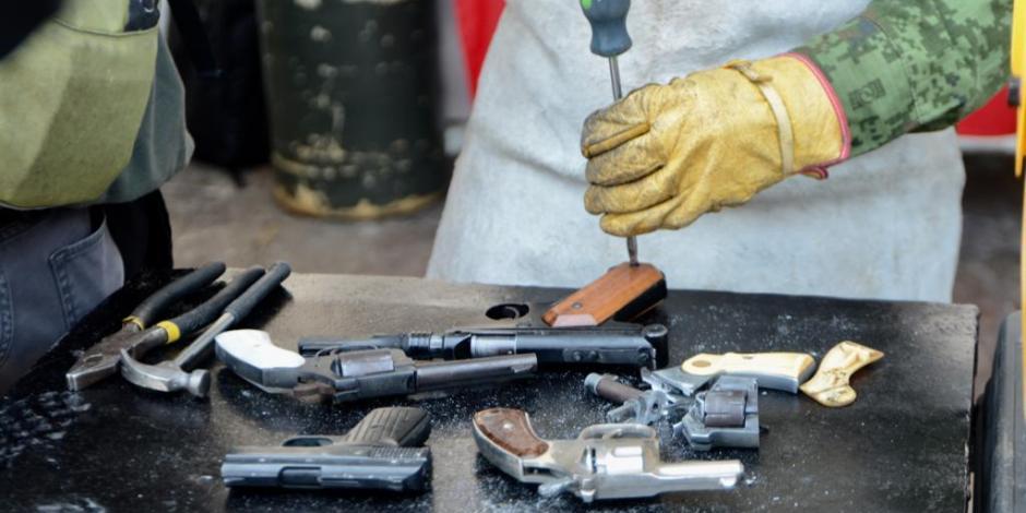 Sheinbaum inicia jornada de desarme voluntario en la CDMX