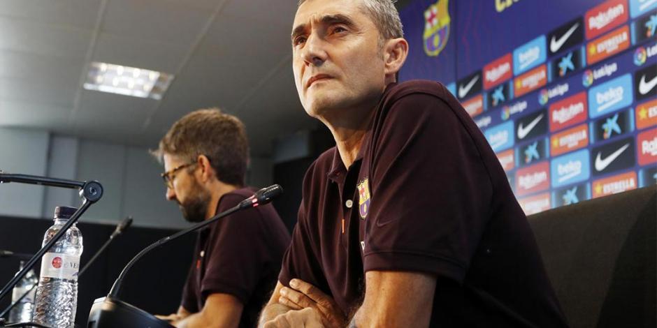 Entrenador del Barcelona acepta que su equipo depende de Messi