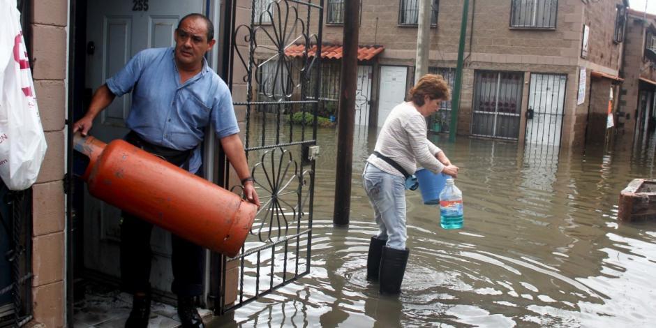 Iztapalapa, en riesgo de inundación cada temporada de lluvias