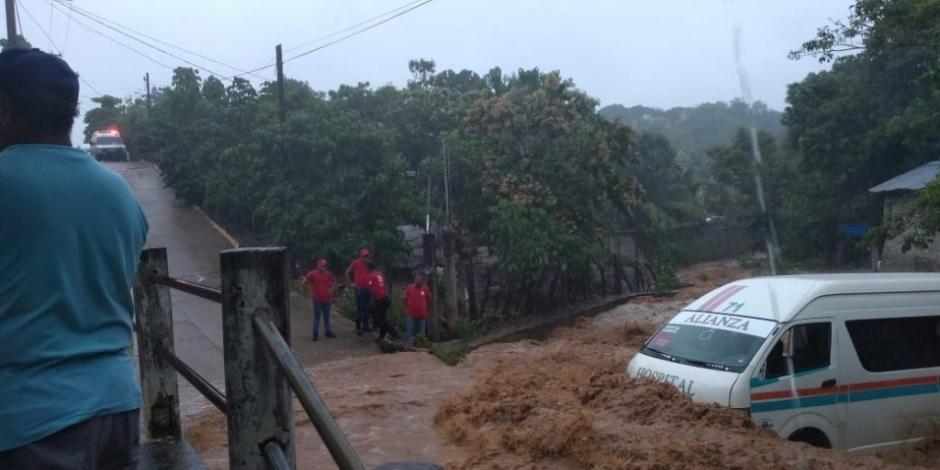 VIDEO: Lluvias por ciclón