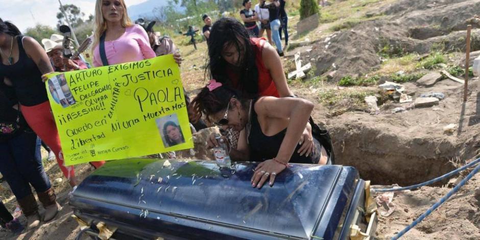Mujeres trans, víctimas de más de la mitad de crímenes de odio en México
