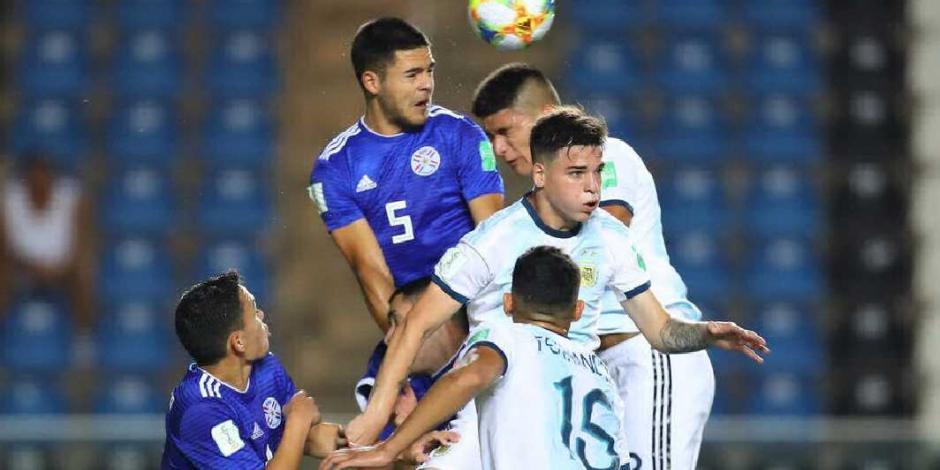 Paraguay elimina a Argentina en Mundial Sub 17 con bronca incluida