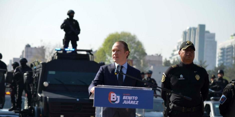 BJ, Benito Juárez, Alcaldía, Blindaje Navideño, Navidad, Operativo, Seguridad, SSC, Robo, Robo a cuentahabiente, Violencia, Robo a transeúnte,