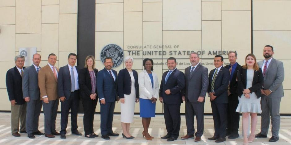 Tamaulipas, Matamoros y Nuevo Laredo consolidan grupo de trabajo binacional