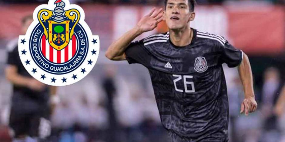 Uriel Antuna es nuevo jugador de Chivas y así luce como rojiblanco (FOTO)