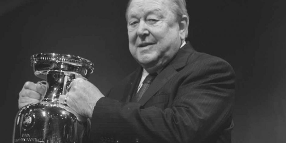 Falleció Lennart Johansson, creador de la Champions League