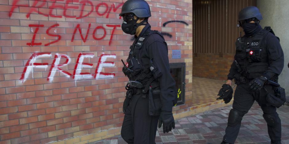 Anuncia China contraataque a Trump, por firmar ley en pro de Hong Kong