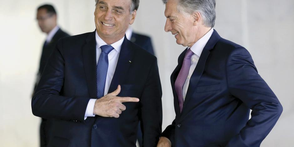 Macri y Bolsonaro abren otro frente antichavista