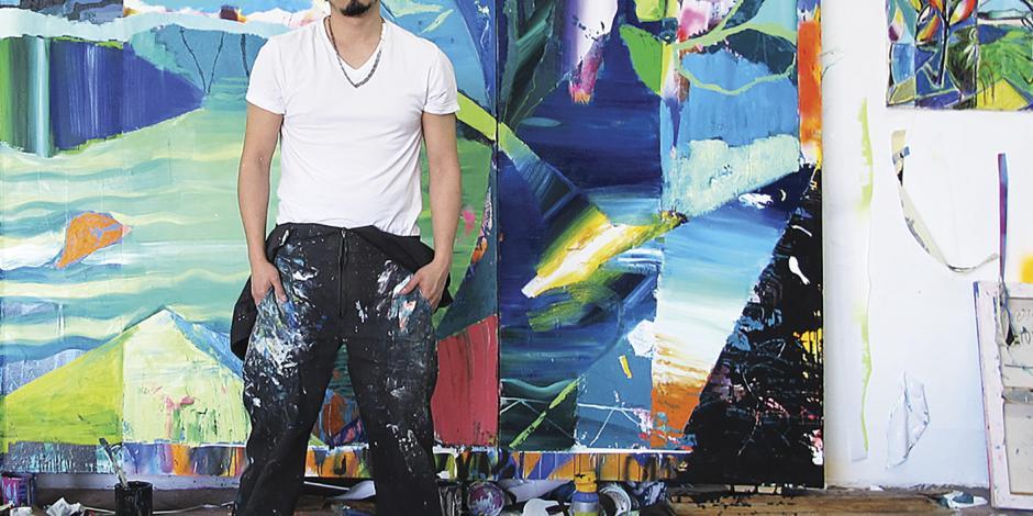 Allan Villavicencio, la nueva pintura mexicana