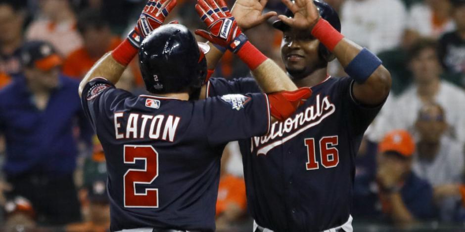 Washington aplasta 12-3 a Houston y aventaja 2-0 en la Serie Mundial