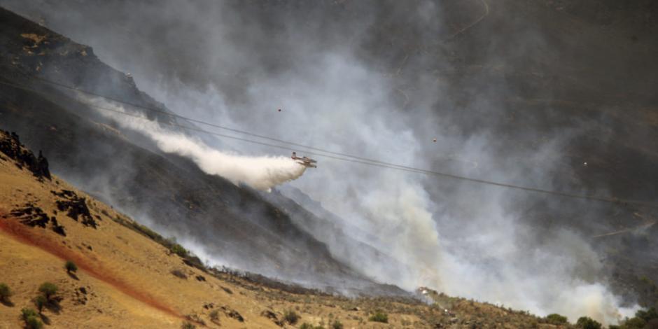 Incendios forestales, nueva fuente de contaminación y riesgo a la salud