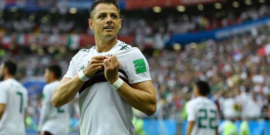 Chicharito Hernández cumple 31 años y recibe felicitación de la FIFA