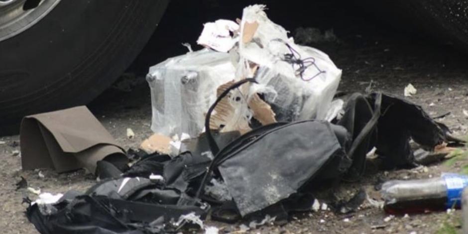 Explota granada en autobús de pasajeros en Michoacán