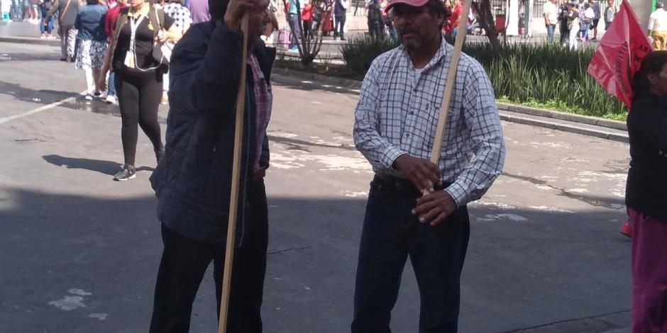 FOTOS: Niegan líderes campesinos que impidan la entrega de fertilizante