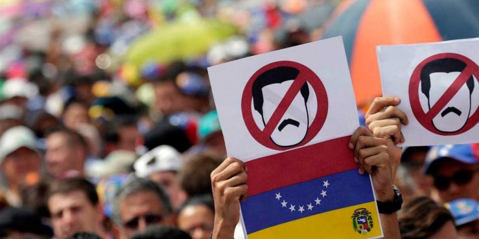 Llama EU a un nuevo gobierno en Venezuela y apoya a líder de congreso opositor