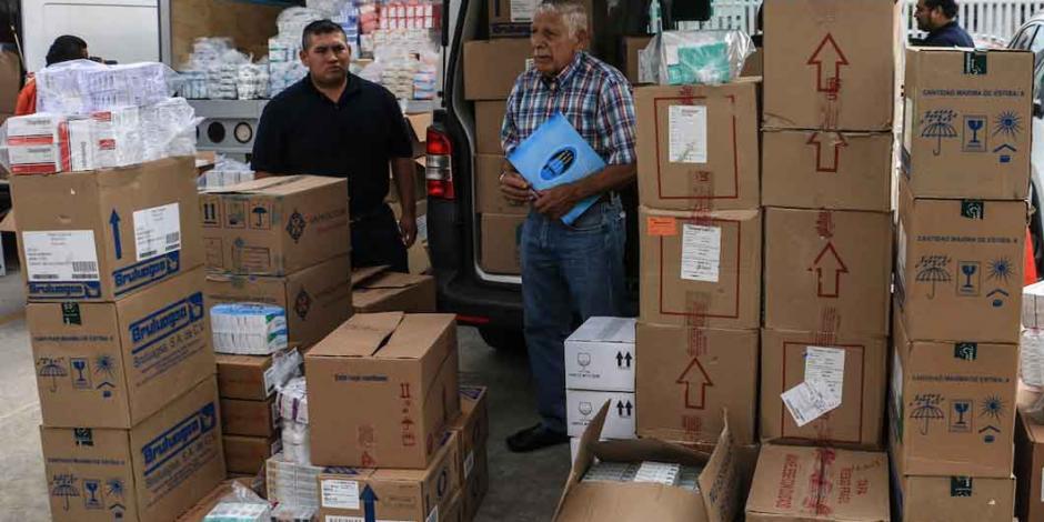 México firma acuerdo con la ONU para la compra de medicamentos