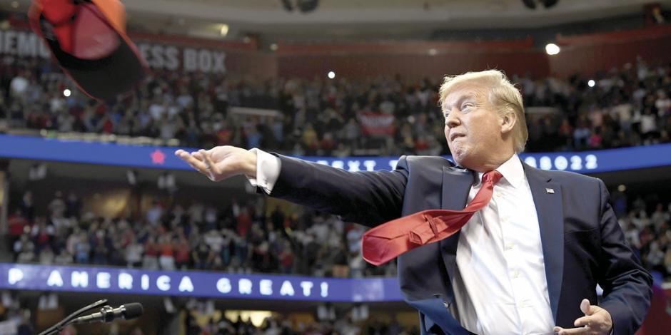 Con acusación contra Trump, inicia audiencia para enjuiciarlo