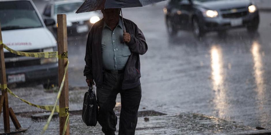 Alertan de lluvias fuertes a intensas en 16 estados del país
