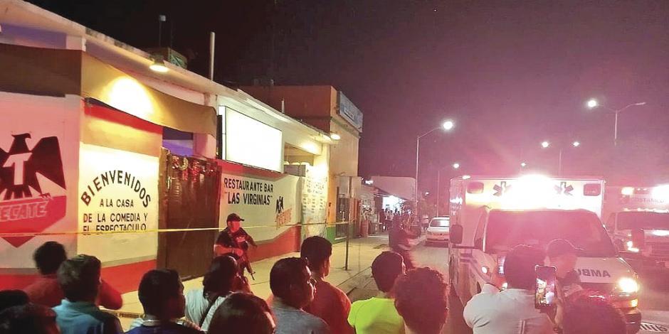 Una balacera en Playa del Carmen deja 7 muertos