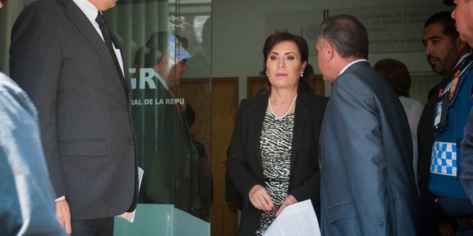 Defensa de Rosario Robles demanda remover del caso a juez Delgadillo Padierna