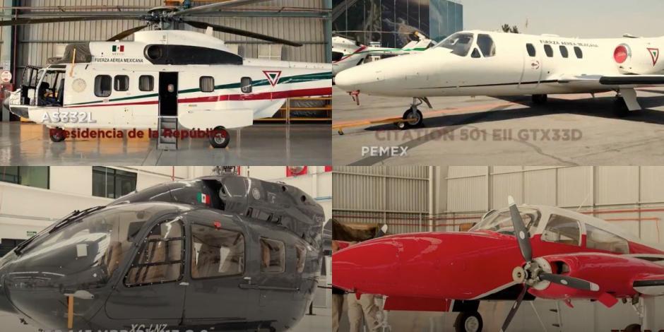 FOTOS: Estas son las aeronaves que el Gobierno quiere vender en la Feria Aeroespacial