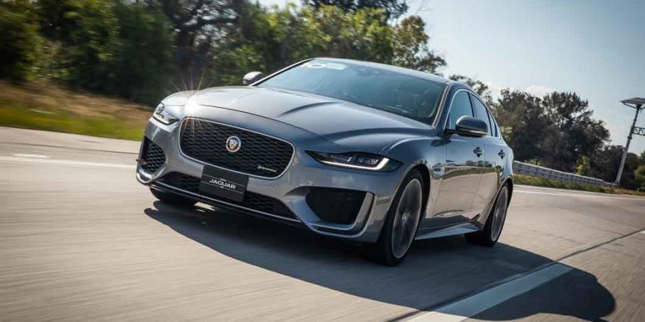 Renovado y dinámico... Así luce el Jaguar XE 2020