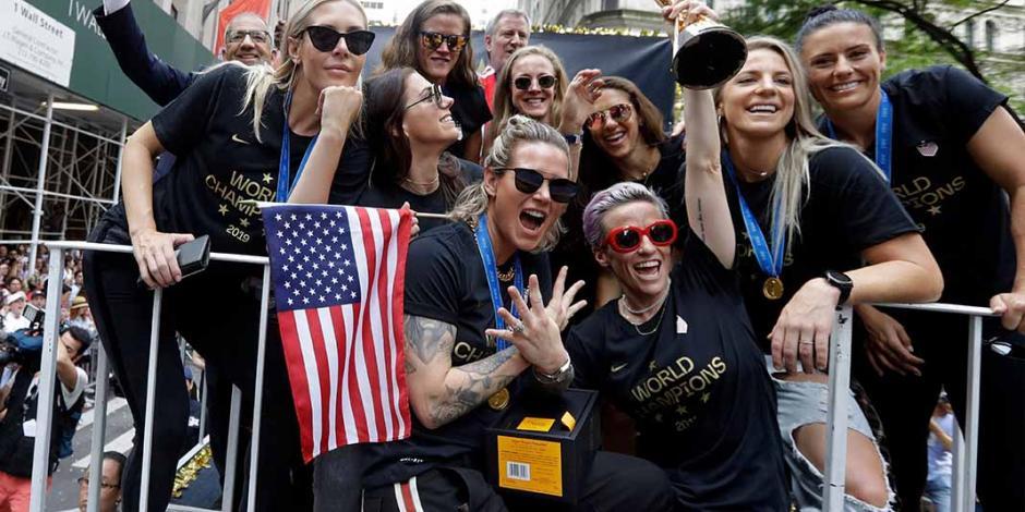 Galería: Las campeonas del mundo desfilan en Nueva York