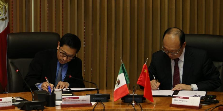 Pemex busca fortalecer inversiones con empresa china