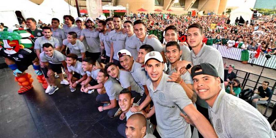 La Selección Mexicana ya está en Dallas para enfrentar a Ecuador