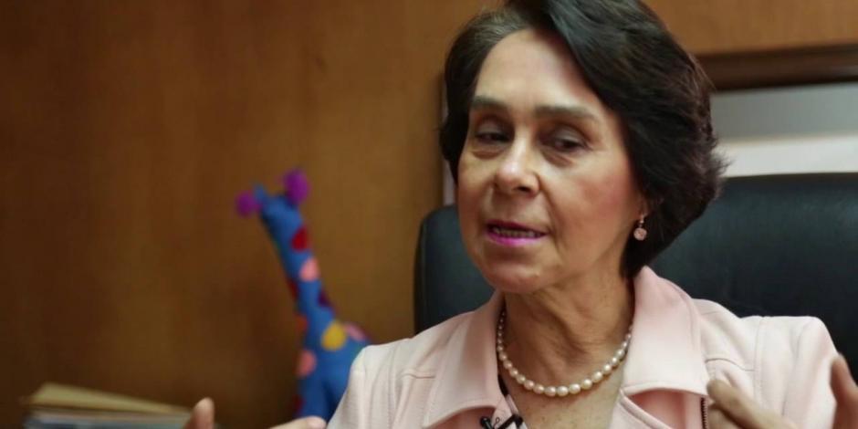 Fallece María de los Ángeles Moreno, expresidenta del PRI
