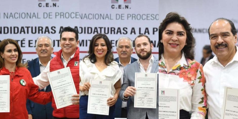 Avalan 3 fórmulas para dirigir al PRI; Ulises Ruiz queda fuera
