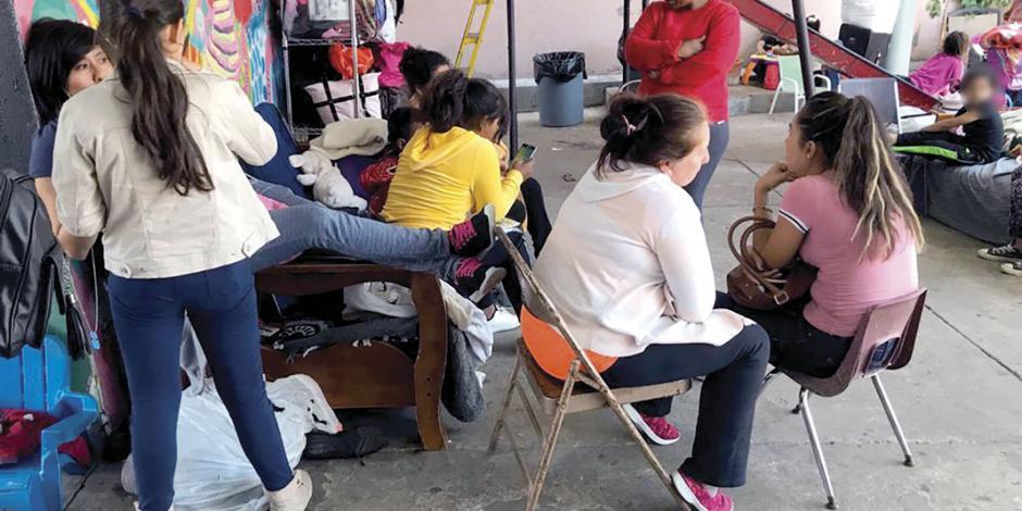 Refugio de Tijuana pide apoyo a las autoridades