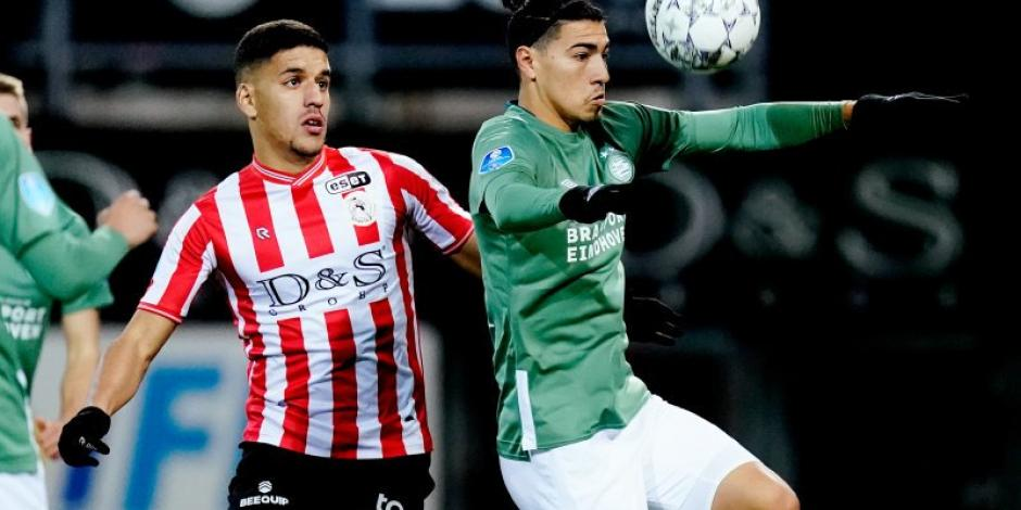 Erick Gutiérrez juega 46 minutos en empate entre PSV y Sparta Rotterdam