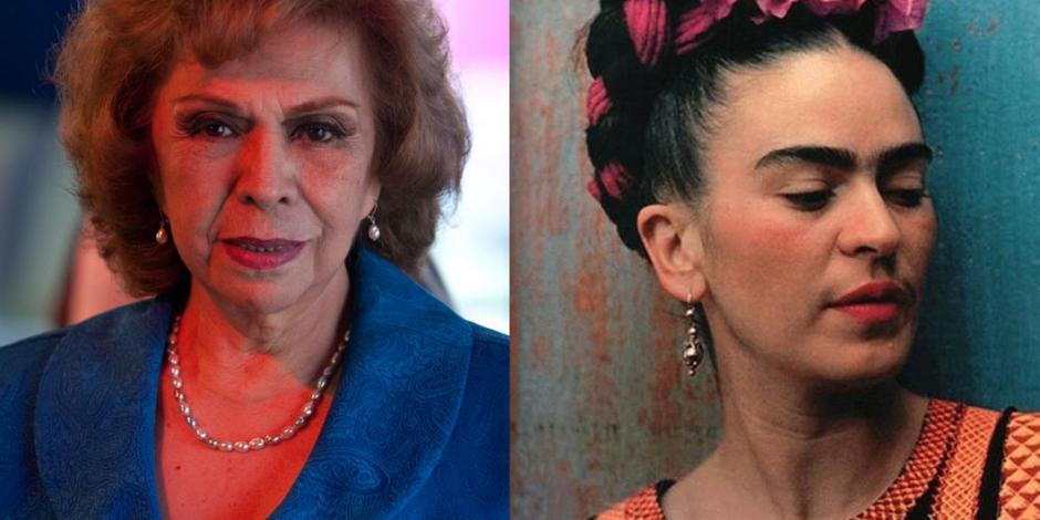 Actriz reconoce como suya voz del supuesto audio de Frida Kahlo