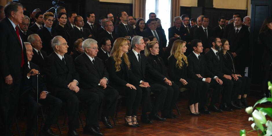 Alfredo del Mazo recibe condolencias de políticos de todo el país