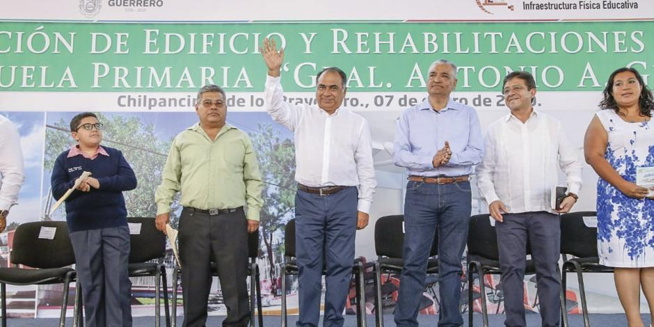 Guerrero invierte en reconstrucción