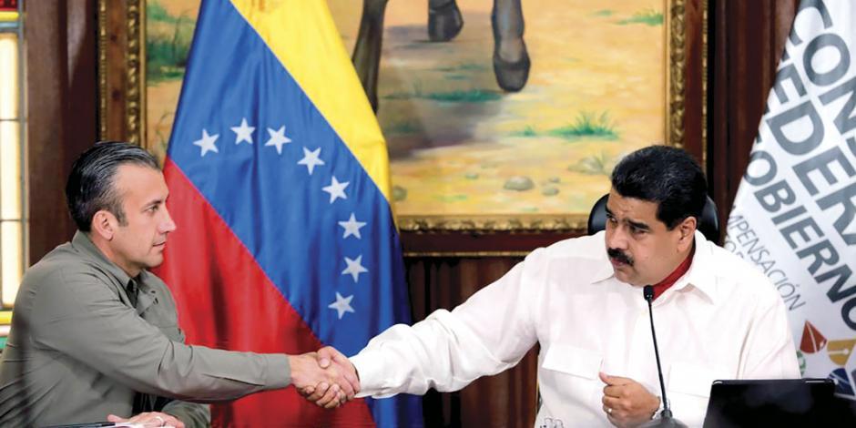 Tesorero de Maduro, el más buscado por la Justicia de EU