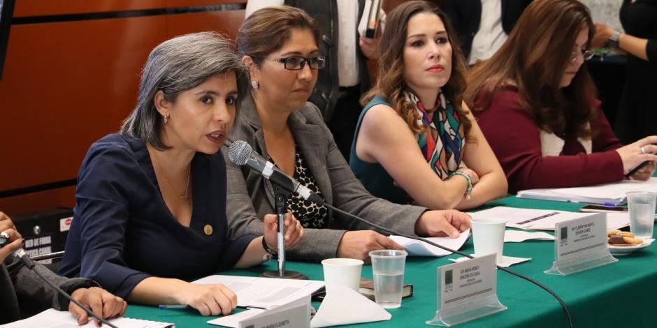 Median diputadas en quejas de acoso sexual: Briceño