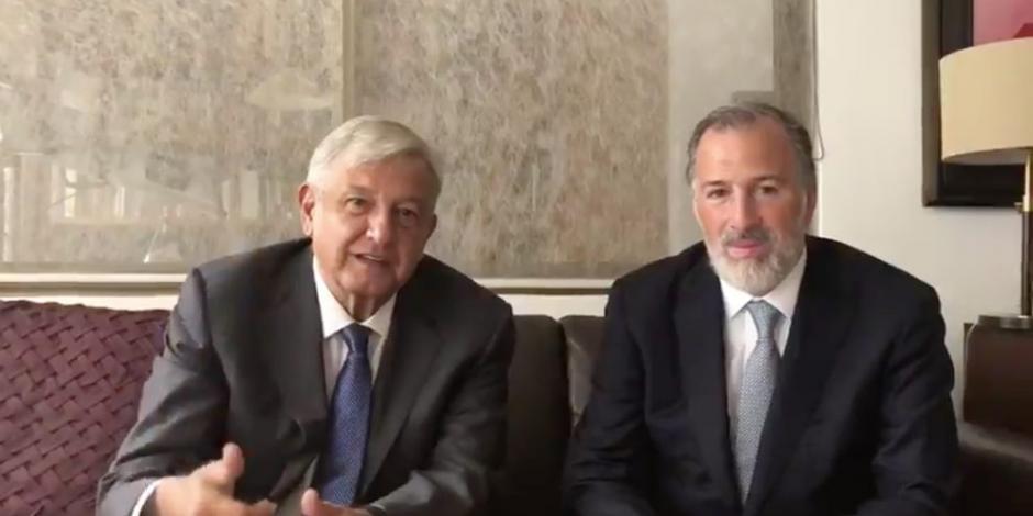AMLO niega que Meade participara en refinanciamiento de Pemex con HSBC