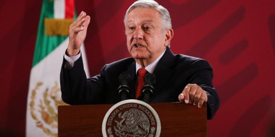 """""""No al silencio"""" dice AMLO a la OEA, tras golpe de Estado en Bolivia"""