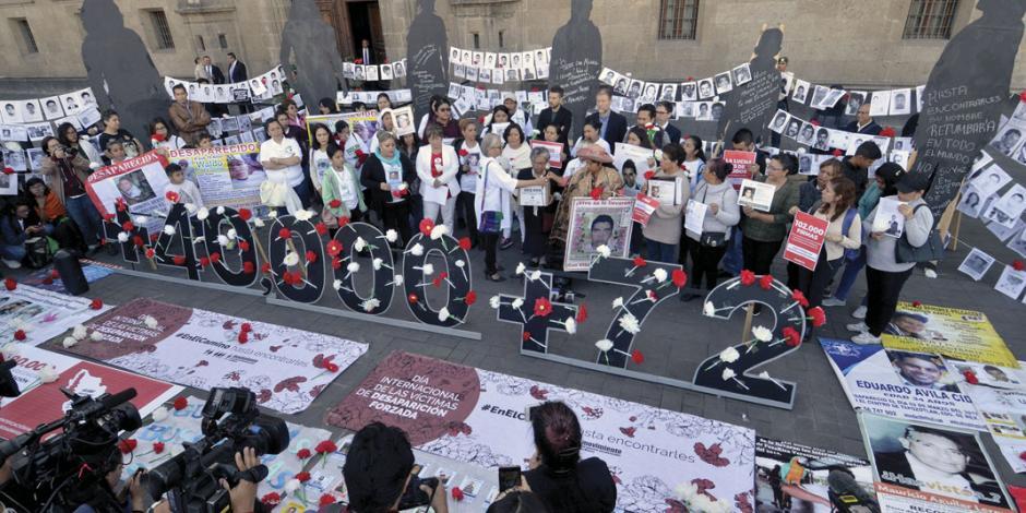 Acepta México apoyo de ONU para buscar a desaparecidos