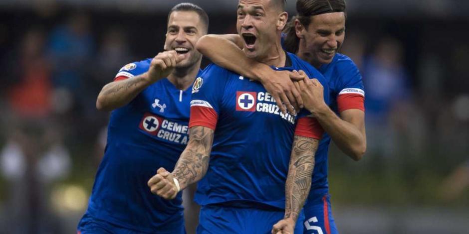 ¡En el último suspiro! Cruz Azul le arrebató el empate 2-2 a Monterrey