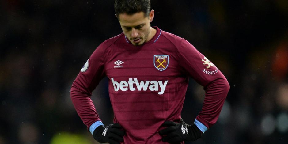 Chicharito pone en duda su continuidad con el West Ham