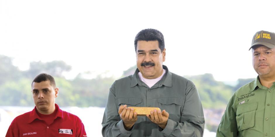 Otra vez por impago, Maduro deja perder 750 mdd en oro