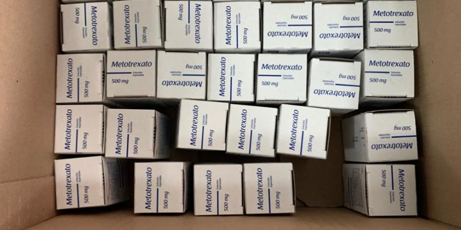 Restablecen suministro de metotrexato en Hospital Infantil