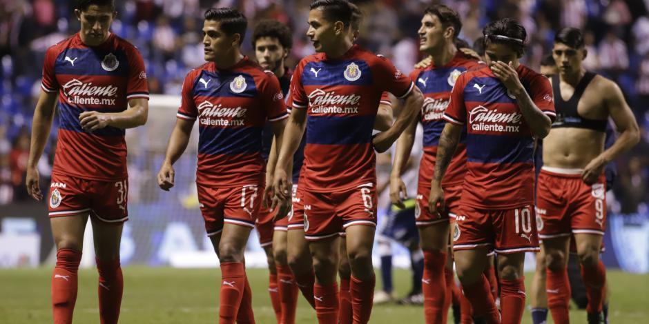 Chivas, en penúltimo lugar de la tabla porcentual