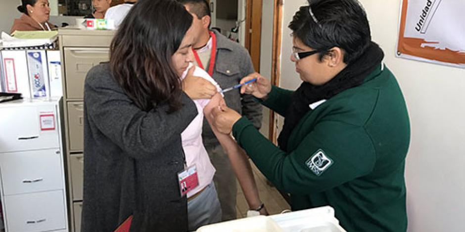Comienza campaña de vacunación contra influenza estacional