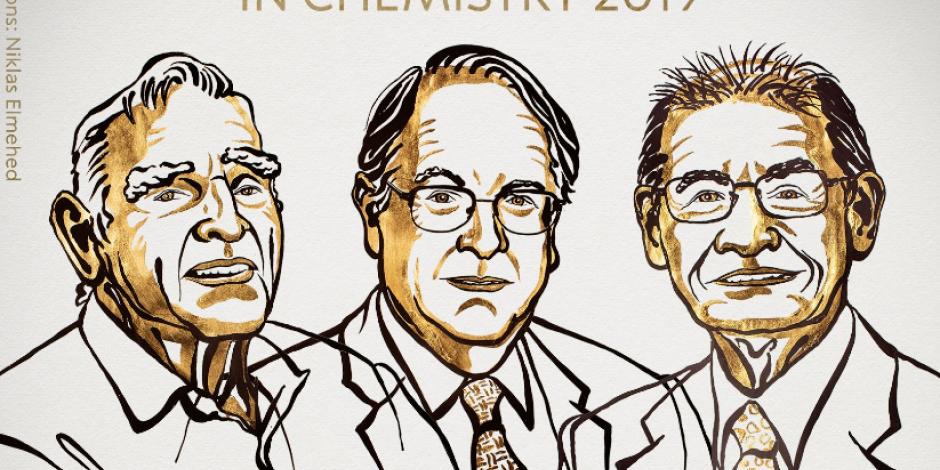 Alemán, británico y japonés ganan Nobel de Química por pila recargable